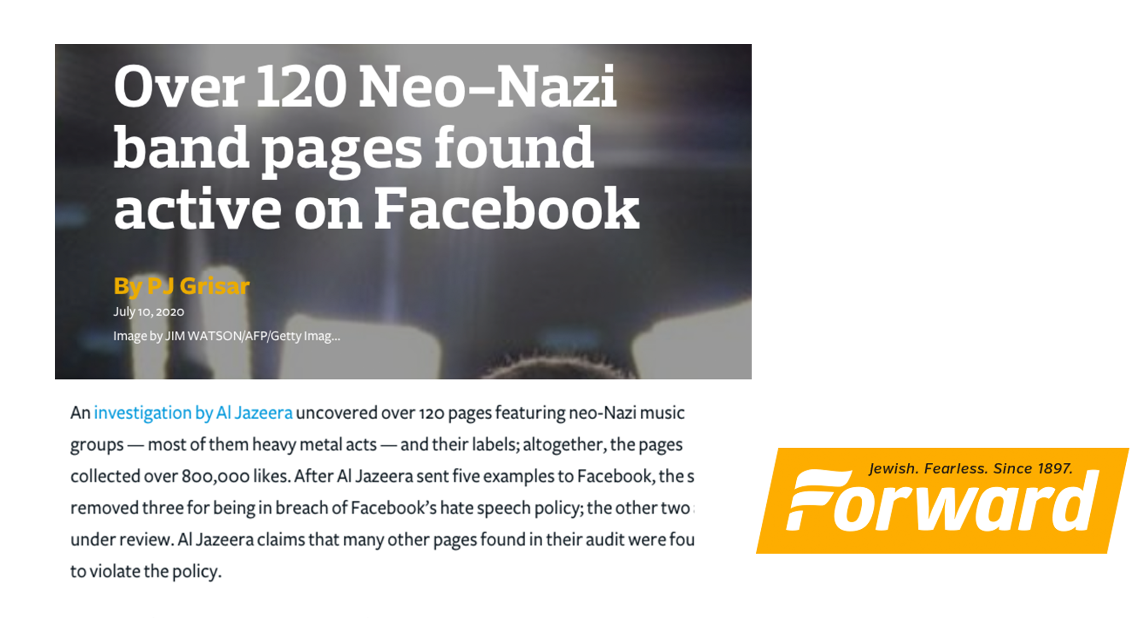 Over 120 Neo-Nazi band pages found active on Facebook