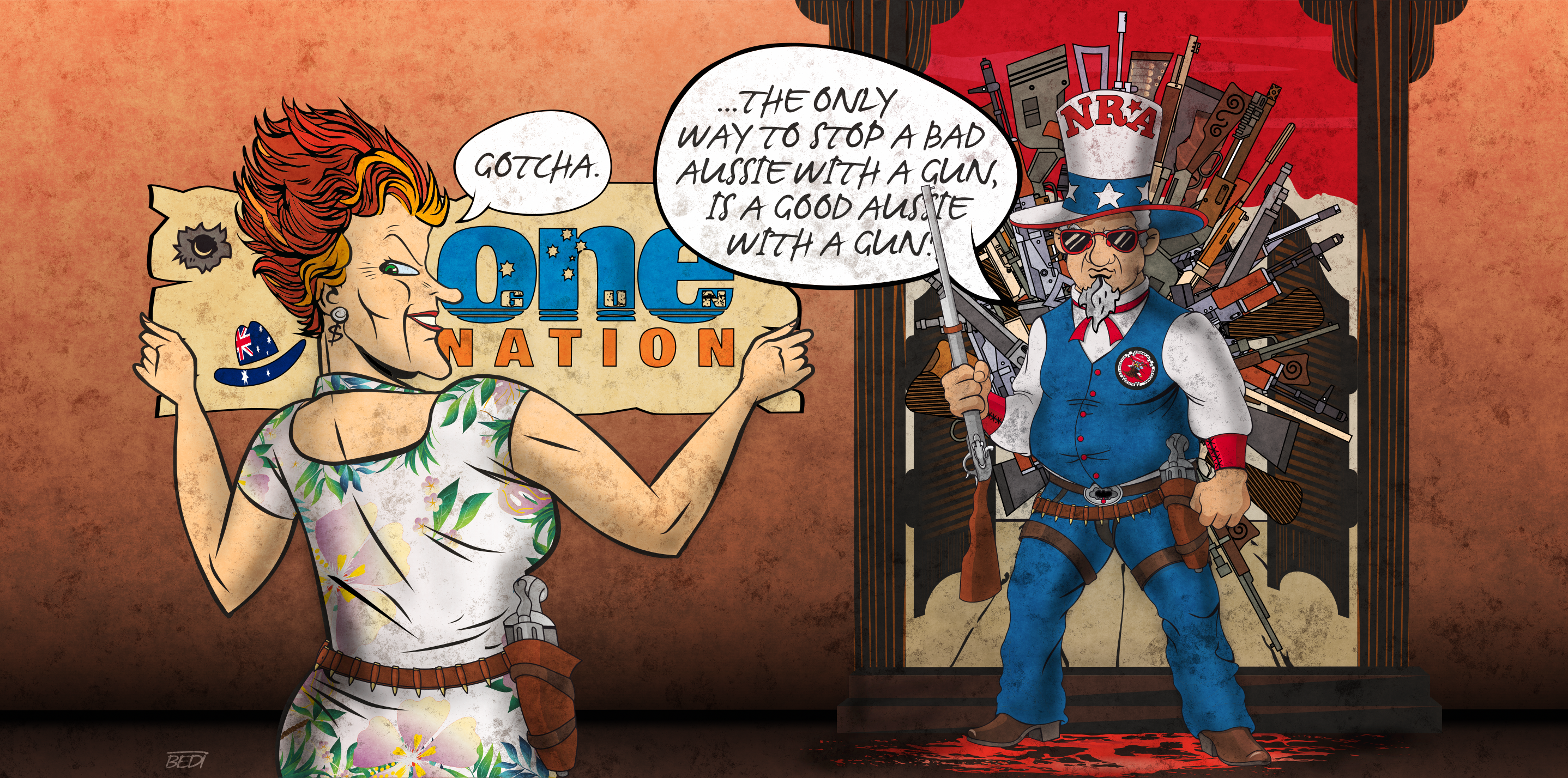 I went undercover to expose the US, Australia gun lobby