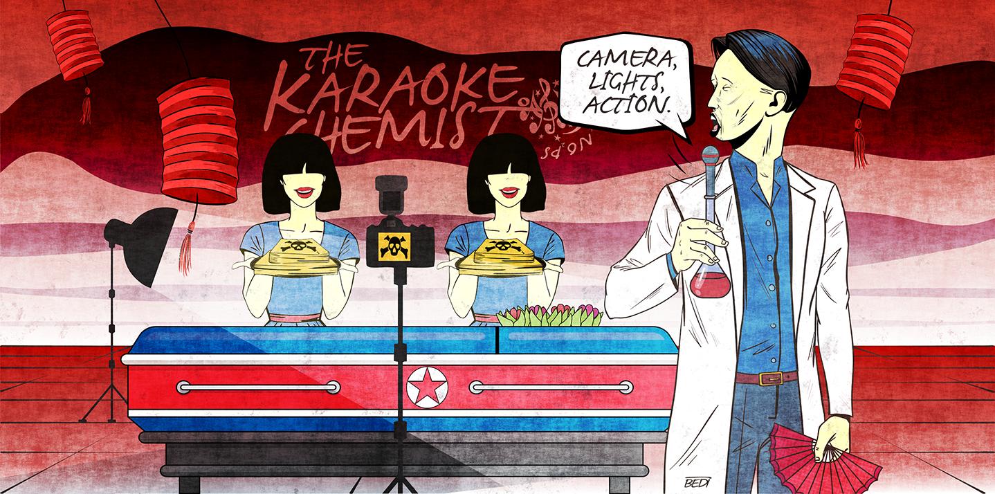 North Korea: Chemistry, a killing, and then karaoke