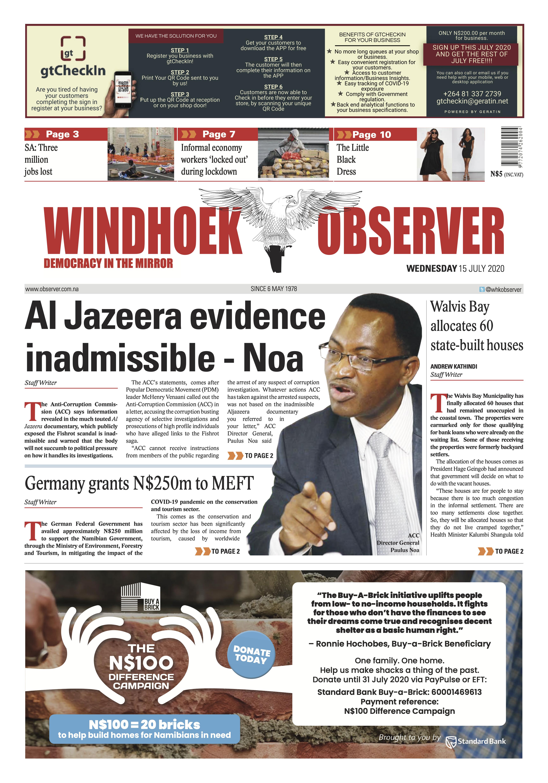 Windhoek Observer