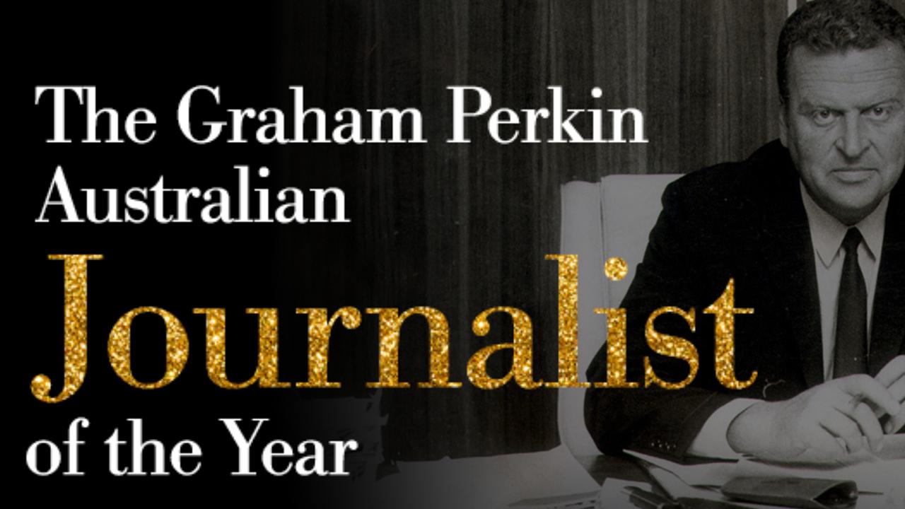 44th Graham Perkin Journalist of the Year