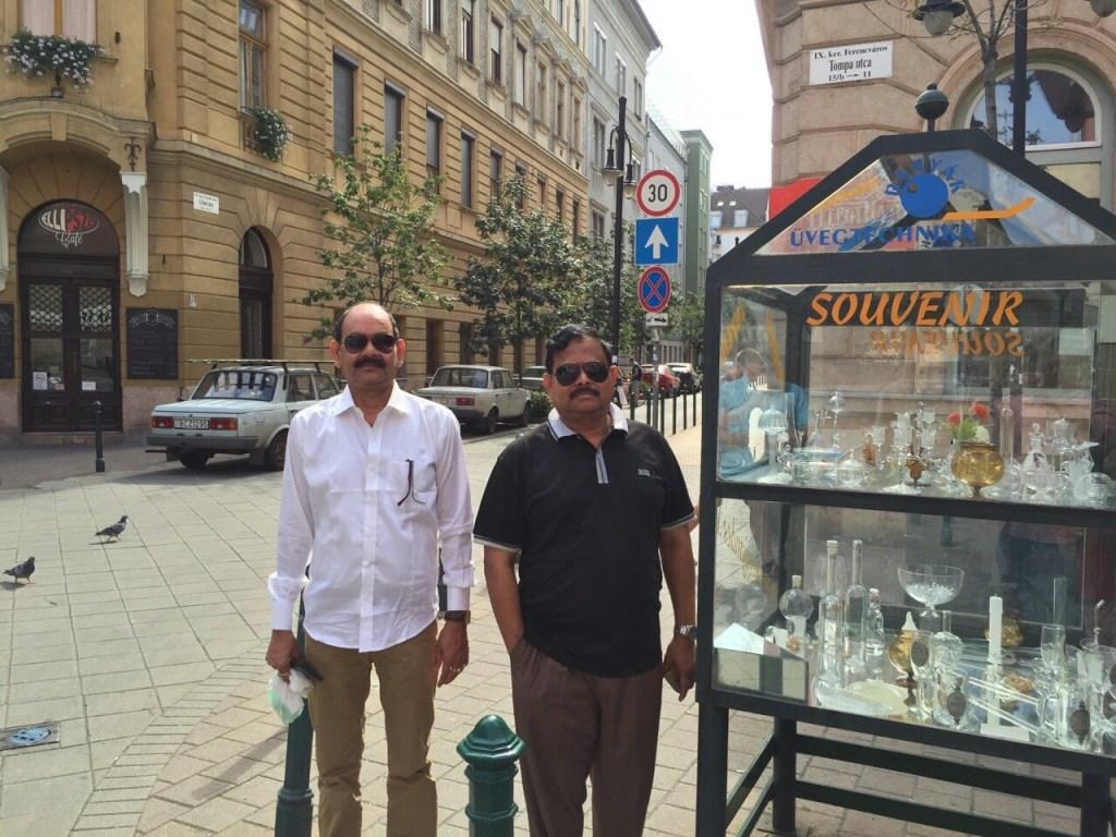 Haris and Aziz in Budapest, Hungary [Al Jazeera]
