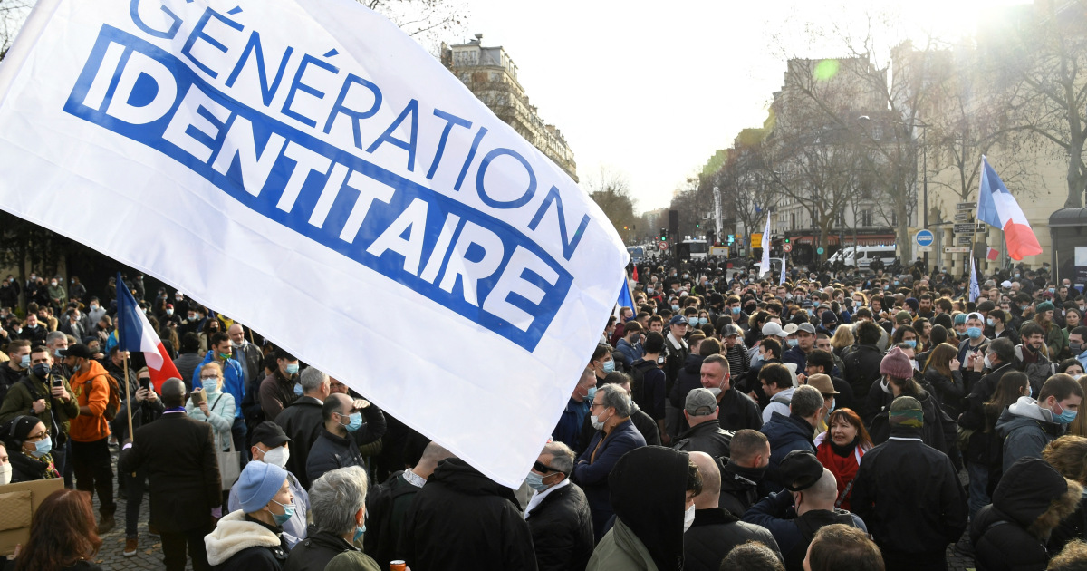 France shuts down far-right group Generation Identity
