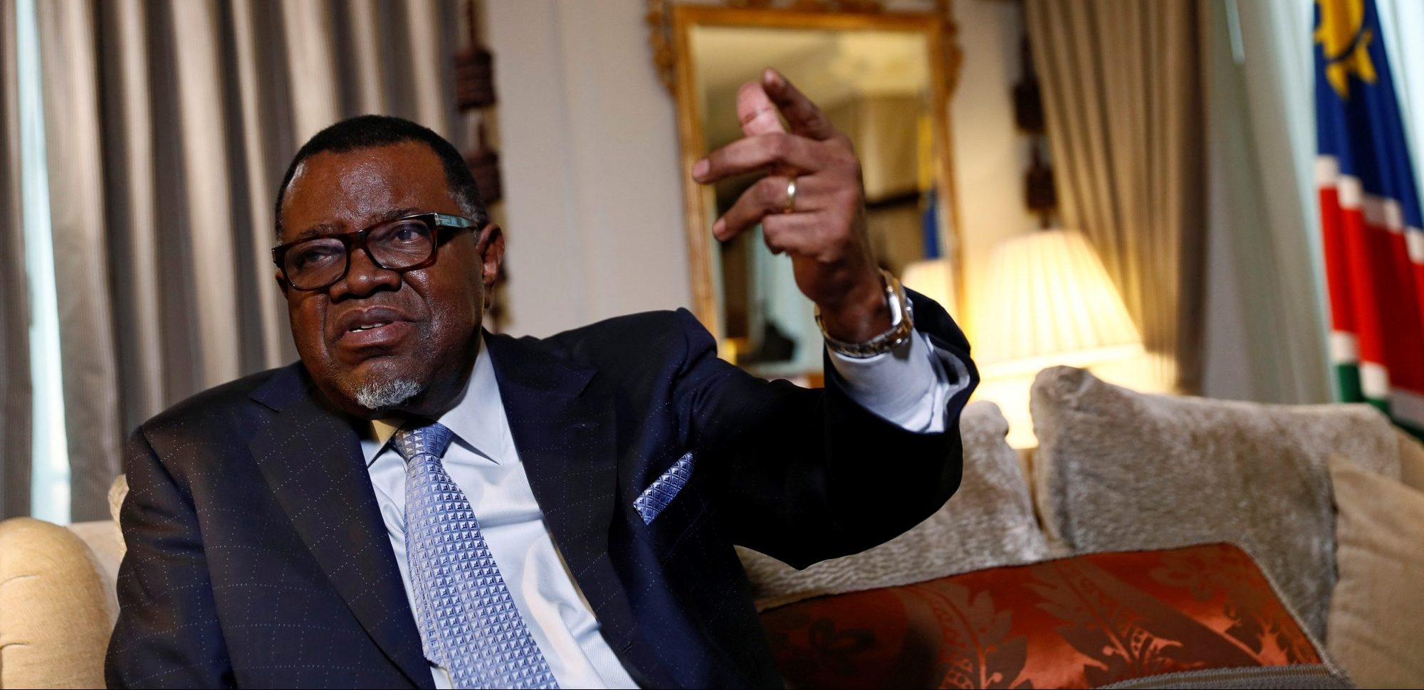 Namibian president caught in fresh fishing corruption allegations