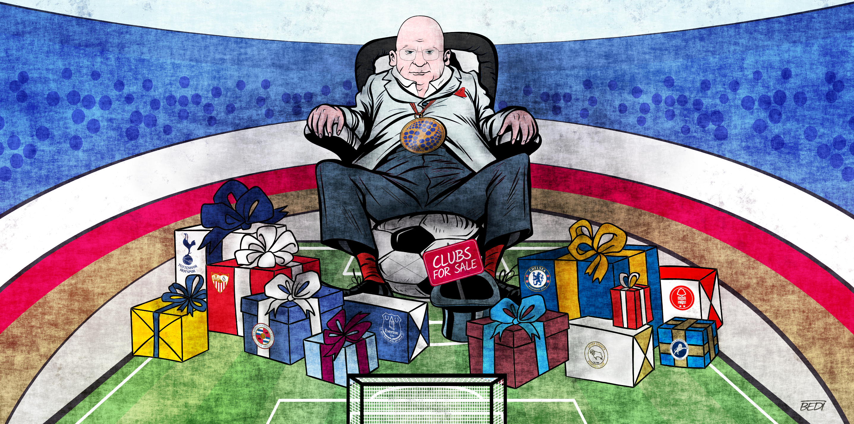 How a convicted criminal can buy a famous English football club