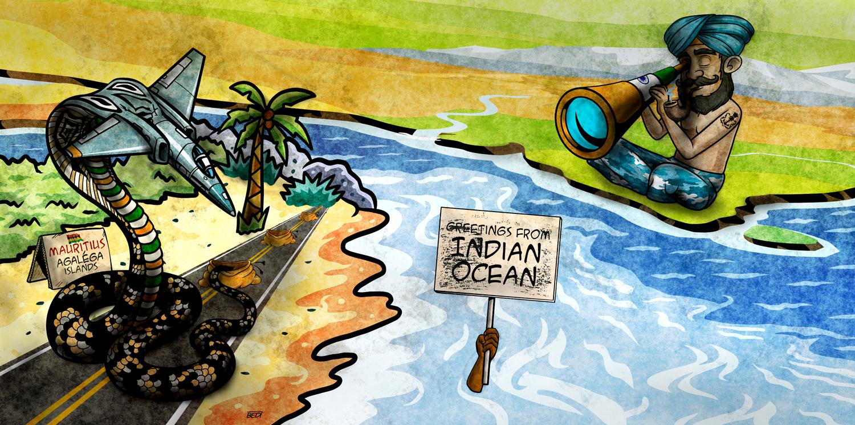 Agaléga: A secret base and India's claim to power
