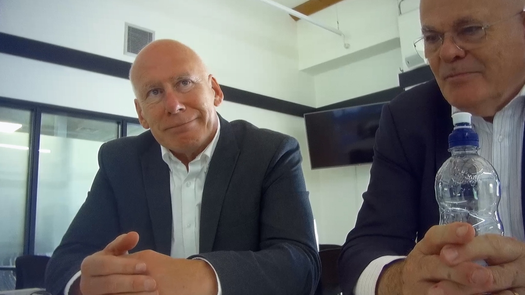 Samuelson introduced Al Jazeera's reporters to Derby County FC owner Mel Morris